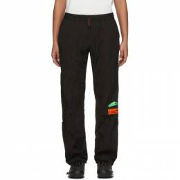 Heron Preston Black Taffeta Lounge Pants HMCA022S208760061040