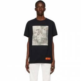Heron Preston Black Heron T-Shirt HMAA011S209140221088