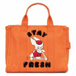 Marc Jacobs Orange Magda Archer Edition Small Traveler Tote M0016238
