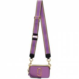 Marc Jacobs Purple Small Snapshot Bag M0012007