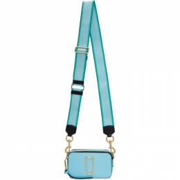 Marc Jacobs Blue Small Snapshot Bag M0012007