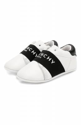 Кожаные пинетки Givenchy H99016
