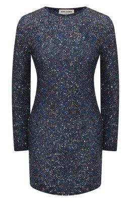 Платье с пайетками Saint Laurent 605372/YAMD2