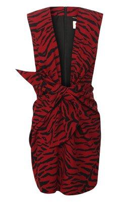 Платье с принтом Saint Laurent 580166/Y315V