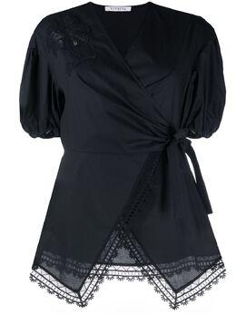 Vivetta блузка с вышивкой и запахом G1310650