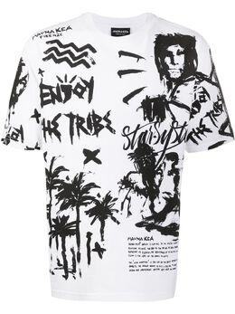 Mauna Kea футболка с принтом MKU116