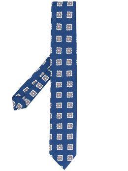 Borrelli галстук с цветочным узором LC80B