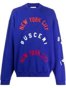 Buscemi толстовка NYC с логотипом BMS20244