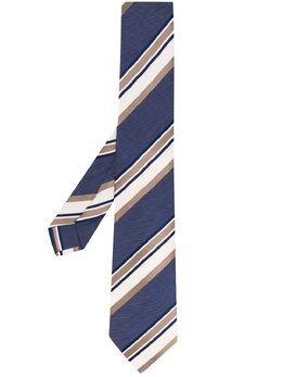 Borrelli полосатый галстук LC80B