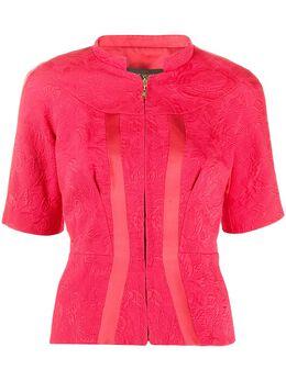 Louis Vuitton жаккардовая блузка на молнии pre-owned VUITTON