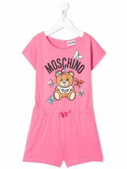 Moschino Kids TEEN Toy Bear playsuit HDT009LBA00