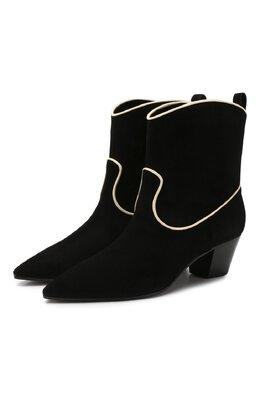 Замшевые ботинки L'Autre Chose LDL085.50CC0540