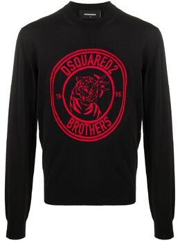 Dsquared2 свитер Brothers с принтом S74HA1069S17227