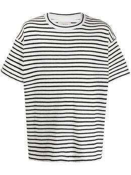 Laneus полосатая футболка оверсайз 290621
