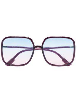 Dior Eyewear солнцезащитные очки в квадратной оправе 202210