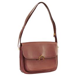Cartier Red Leather Shoulder Bag 253700