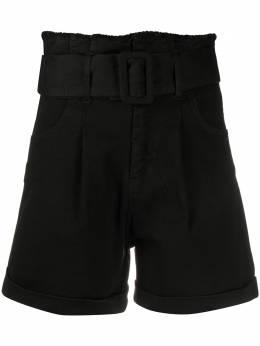 Federica Tosi шорты с завышенной талией со сборками FTE20SJ0780VDENIM