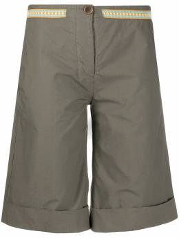 Mr & Mrs Italy расклешенные шорты-бермуды XST0107
