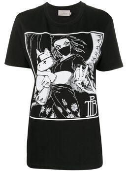 Preen By Thornton Bregazzi футболка Tamiko с принтом 010220