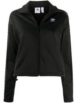 Adidas спортивная куртка с кружевными вставками FM1734