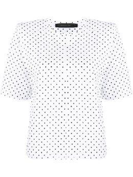 Federica Tosi футболка со структурированными плечами FTE20TS1250JE0081