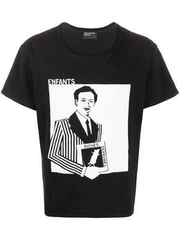 Enfants Riches Deprimes футболка с графичным принтом 010001
