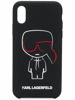 Karl Lagerfeld чехол Karl Ikonik для iPhone X/XS KL20KCXS999