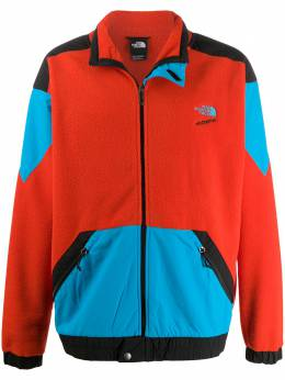The North Face флисовая куртка со вставками NF0A4AGKLKDS