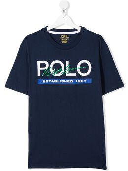 Ralph Lauren Kids футболка с логотипом 785853005