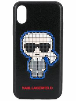 Karl Lagerfeld чехол Pixel Karl для iPhone X/XS KL20PLXS999