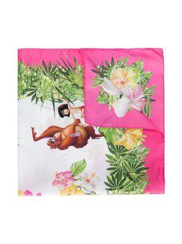Monnalisa шарф с принтом 'The Jungle Book' 1910221757