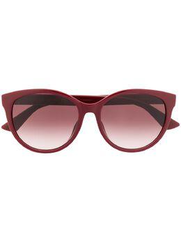 Gucci Eyewear солнцезащитные очки в круглой оправе GG0636SK004