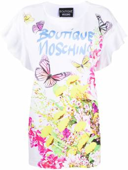 Boutique Moschino floral print T-shirt 12030840
