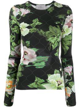 Preen By Thornton Bregazzi топ Xandria с цветочным принтом 010218
