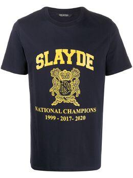 Neil Barrett футболка Slayde BJT717SN510P