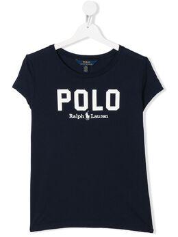 Ralph Lauren Kids футболка с логотипом 793933003