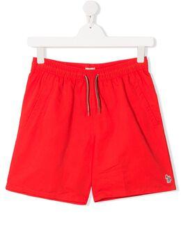 Paul Smith Junior плавки-шорты с кулиской 5Q38502