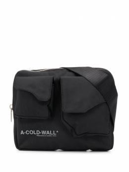A-Cold-Wall* поясная сумка с логотипом ACWUG006WHLNBLAK