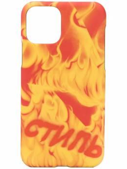 Heron Preston чехол для iPhone 11 с принтом HMPA007S207390208888
