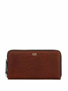 Giuseppe Zanotti Design embossed croc-effect zipped wallet EAU0002002