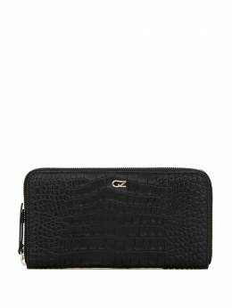 Giuseppe Zanotti Design embossed croc-effect zipped wallet EAU0002001