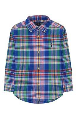 Хлопковая рубашка Ralph Lauren 323785618