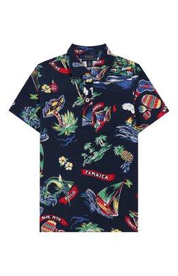 Хлопковое поло Polo Ralph Lauren 323786294