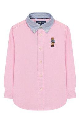 Хлопковая рубашка Ralph Lauren 322785755