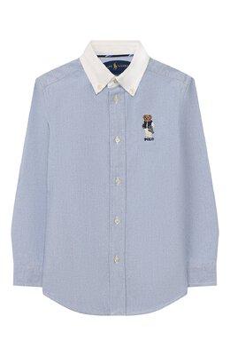 Хлопковая рубашка Ralph Lauren 321785755