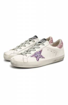Кожаные кеды Superstar Golden Goose Deluxe Brand G35KS301.B14