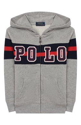 Хлопковая толстовка Polo Ralph Lauren 321786397