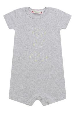 Серый комбинезон с надписью Bonpoint 1210187771