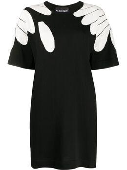 Boutique Moschino трикотажная туника с цветочным узором 04830800