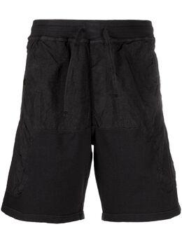 Stone Island Shadow Project шорты с контрастными вставками MO721960307